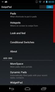 SwipePad - Gesture Launcher3