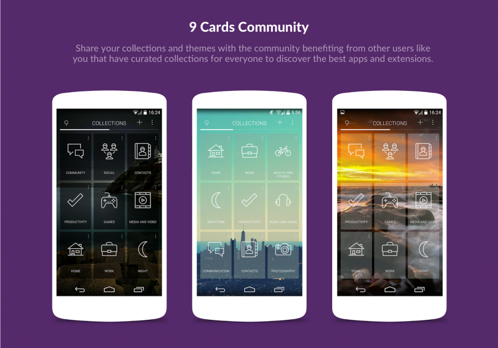 9 Cards Home Launcher5