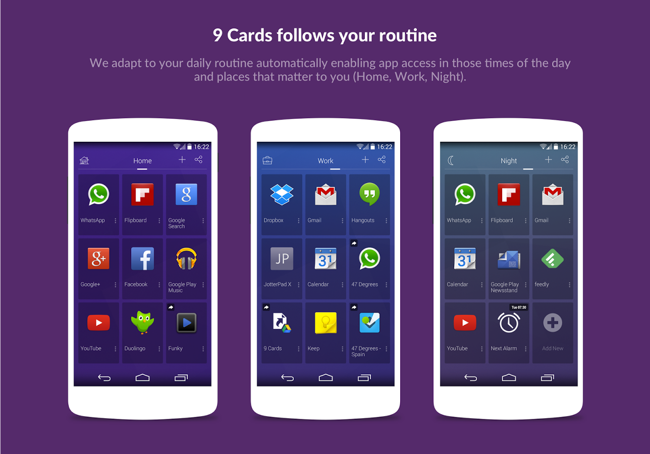 9 Cards Home Launcher6