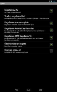Arama ve SMS Engelleyici3