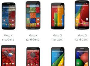 Android 5.0 Gelecek Motorola Telefonlar