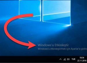 Windows Nasıl Etkinleştirilir?